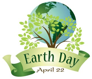 CELEBRATE EARTH DAY….APRIL 22nd